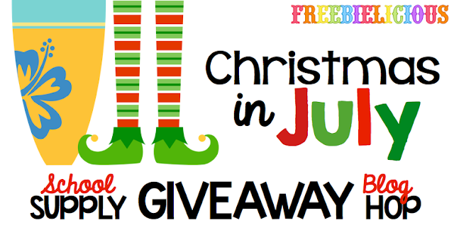 Freebielicous Christmas in July Giveaway Hop