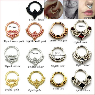 Tragus Piercing Rings
