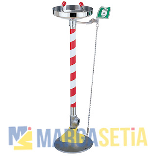 Jual Emergency Eye-Wash (Pedestal Mounted Type) Blue Eagle EW407