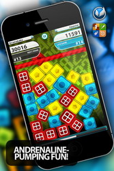 Push Panic - another addictive colorful puzzle game for the iPhone