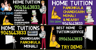 home tuition home tutor in panchkula 9041443833