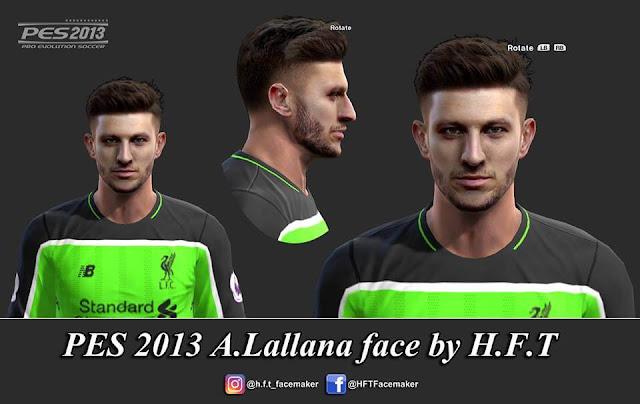 Adam Lallana Face PES 2013