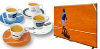 Logo Concorso Lavazza e vinci set tazzine Tennis Cups e TV LG Led