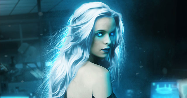 sexy Danielle Panabaker hot Killer Frost powers