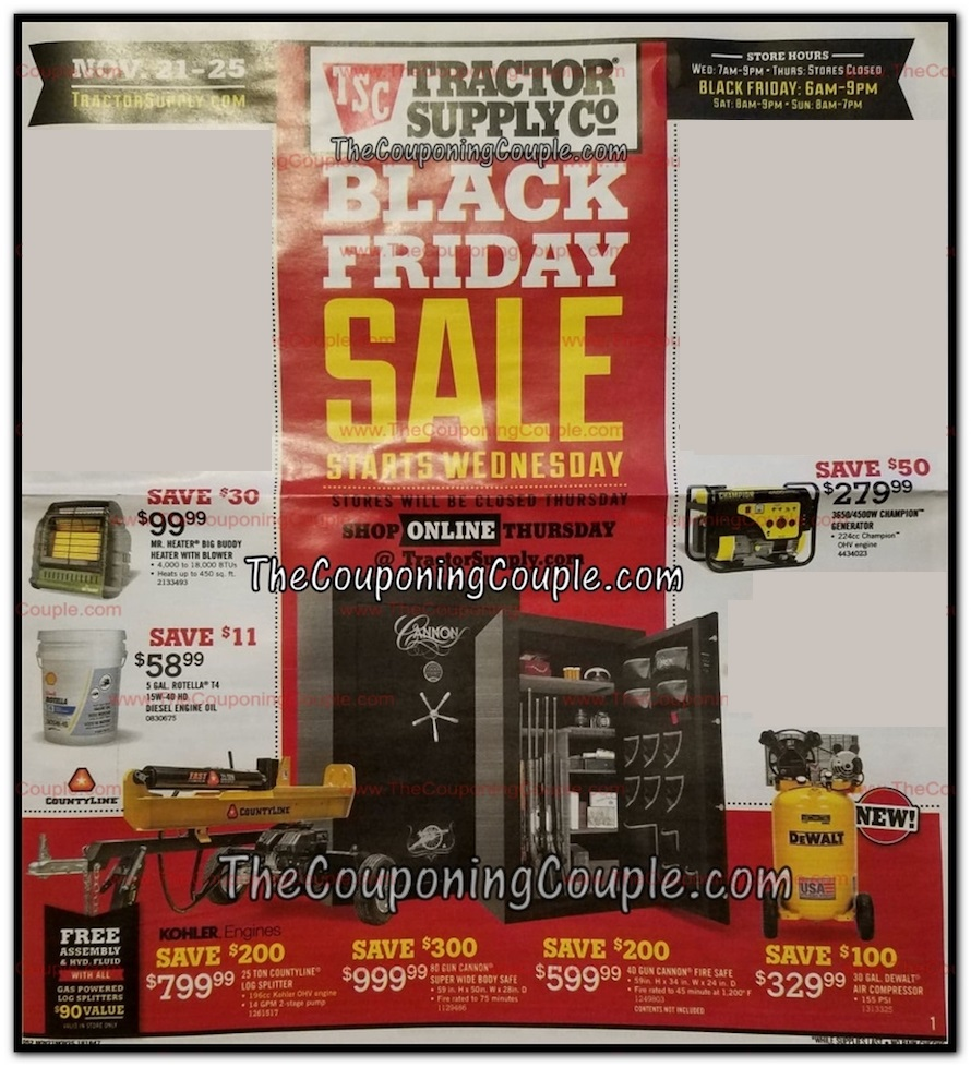 Tractor Supply Friday tools 2018 ad