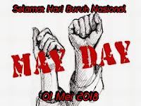 Kata kata ucapan hari buruh nasional 01 mei 2018 terlengkap