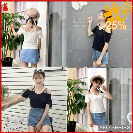 AFO634 Model Fashion Open Shoulder Modis Murah BMGShop