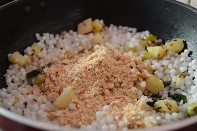 Recipe for Sabudana Khichdi