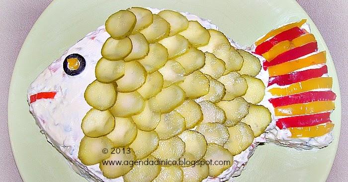 Agenda di Nico Insalata russa con pesce  Salata de