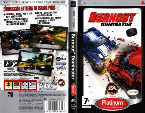 Download Game Balapan Burnout Dominator PPSSPP Iso Cso For Android
