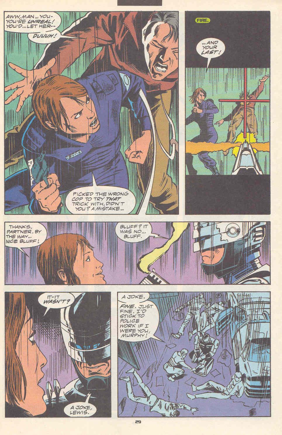 Read online Robocop (1990) comic -  Issue #17 - 22