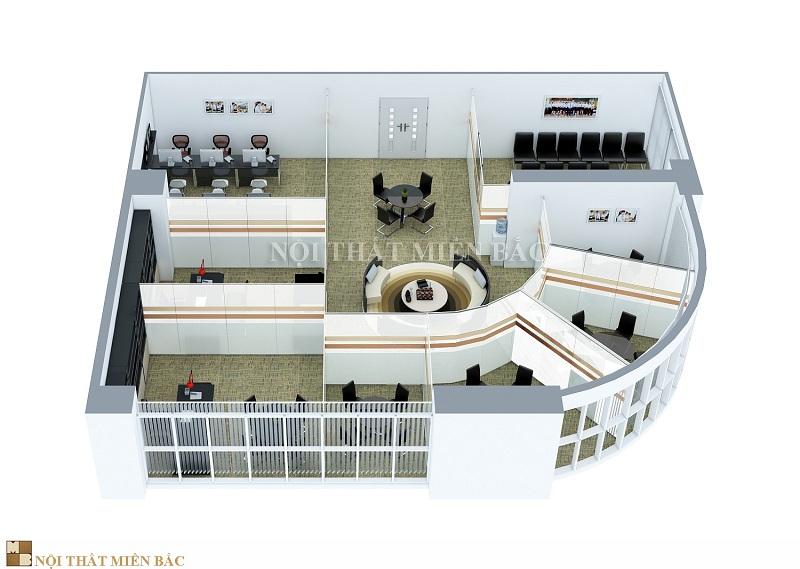 Lựa chọn công ty thiết kế nội thất văn phòng có thái độ nhiệt tình