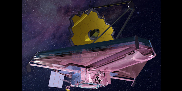 Illustration of NASA's James Webb Space Telescope Credits: NASA