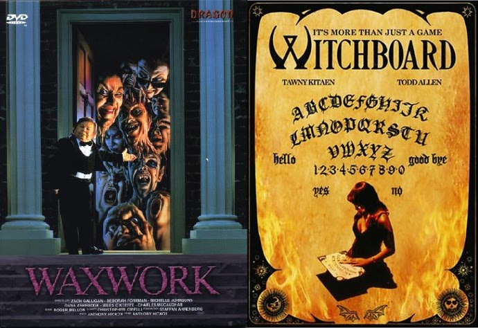1988 Movie Posters: The Location Scout: Waxwork (1988), Witchboard (1986), + More