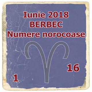 Predictii Iunie 2018 BERBEC Horoscop Numere norocoase