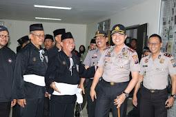 Kapolres Ajak Warga PSHT, Dukung Pemilu 2019 Aman Damai Serta Tolak Berita Hoax