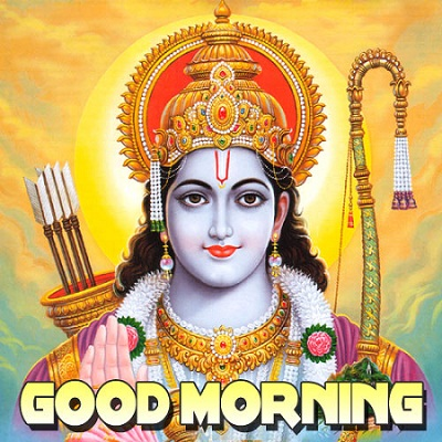 God Ram Good Morning Wallpaper
