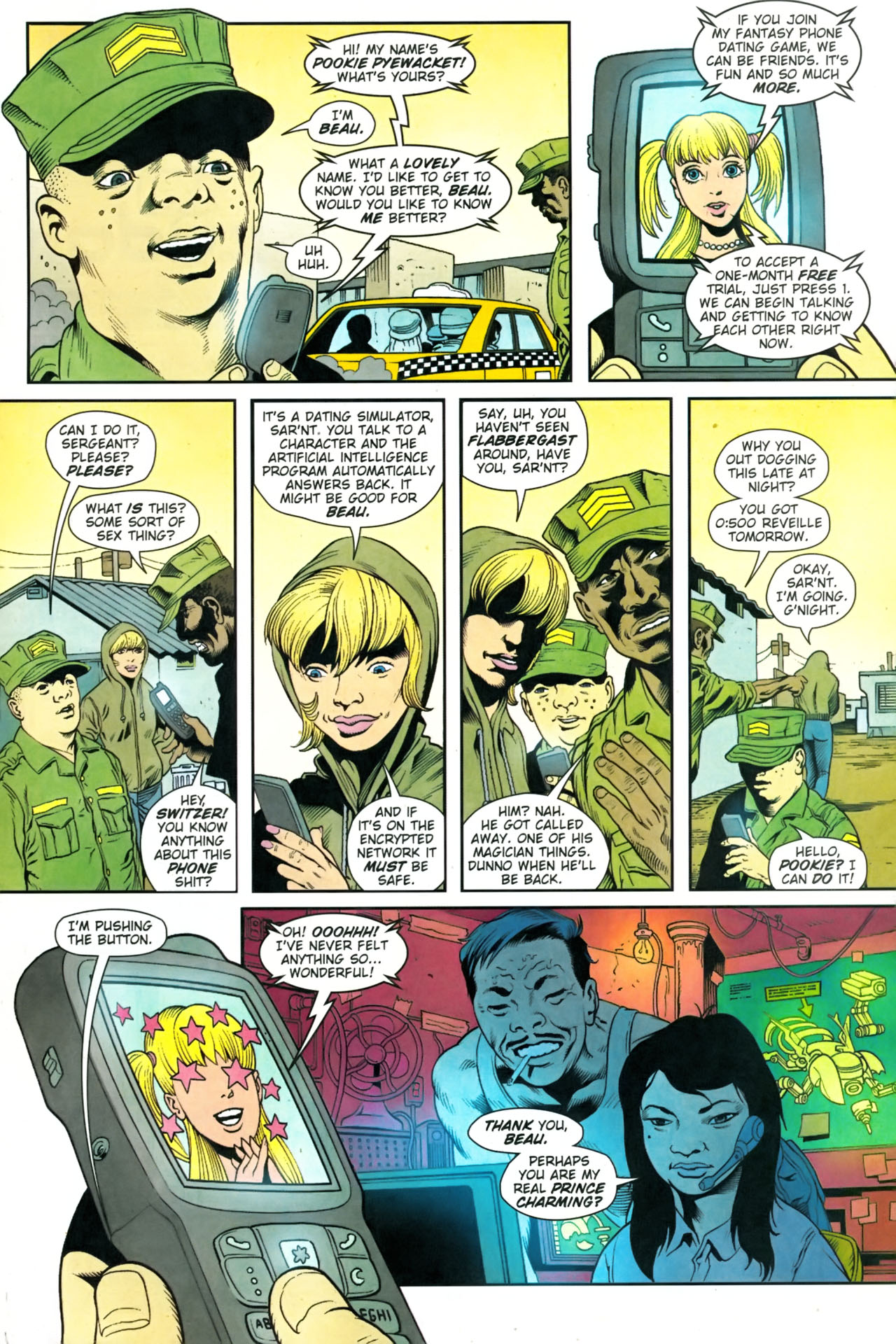 Read online Army @ Love comic -  Issue #9 - 21