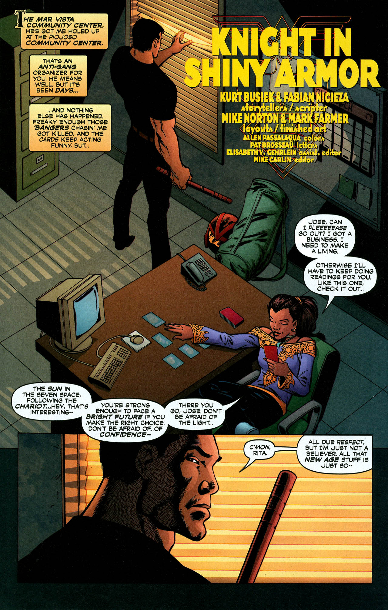 Read online Trinity (2008) comic -  Issue #5 - 21