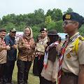 Perkemahan Wirakarya Tingkat Daerah Jawa Barat Resmi di Buka Bupati Karawang