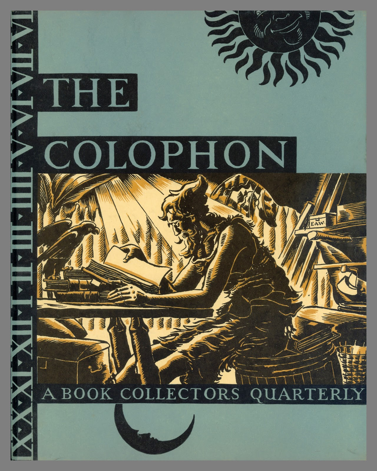 Category wednesday exhibition center for book arts this week id like to highlight one of the reference collections many journal titles the colophon ref1024 ref1025 and ref fandeluxe Image collections