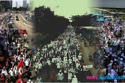Inilah Foto-foto Massa Pembela Ulama Yang Getarkan Musuh Islam Jelang Pemeriksaan Habib Rizieq