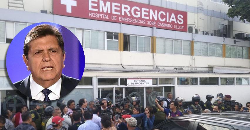 ALAN GARCÍA: Filtran presuntas imágenes del expresidente tras dispararse en la cabeza