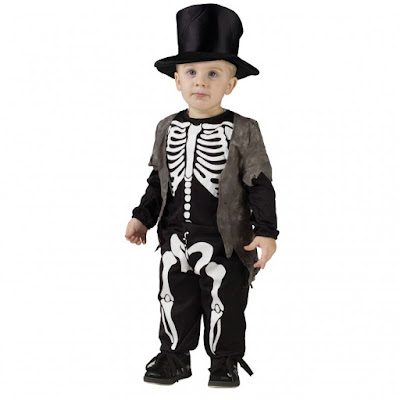 toddler skeleton morphsuit