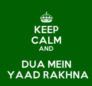 duaao me yaad rakhna