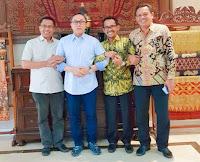 LUTFI-FERI Bakal Dilantik di Kobi Tanggal 26 September, Ketua MPR RI Siap Hadir