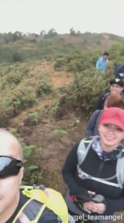 Neil Arce And Angel Locsin's Moments During Their Hike In Sagada