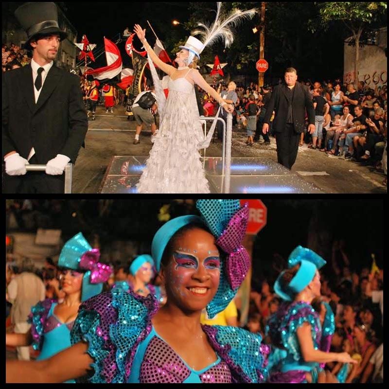 Carnaval. Desfile de Llamadas. Montevideo.Serenata Africana. Laetitia D'Aremberg. 2010.