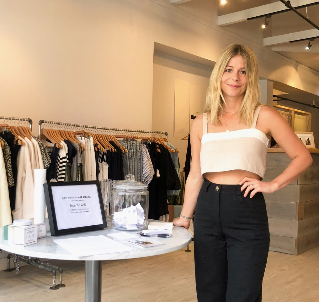Vancouver Sustainable Fashion Designers Vsfd Interview With Laila Bedard Potvin Of Harly Jae