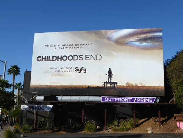 Childhoods End TV miniseries billboard