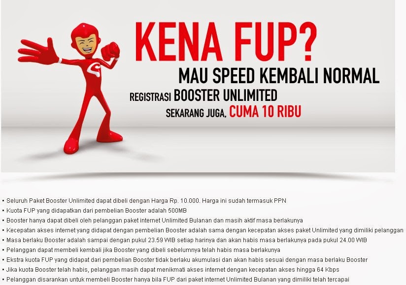 Cara Registrasi Paket Booster Internet Smartfren Unlimited