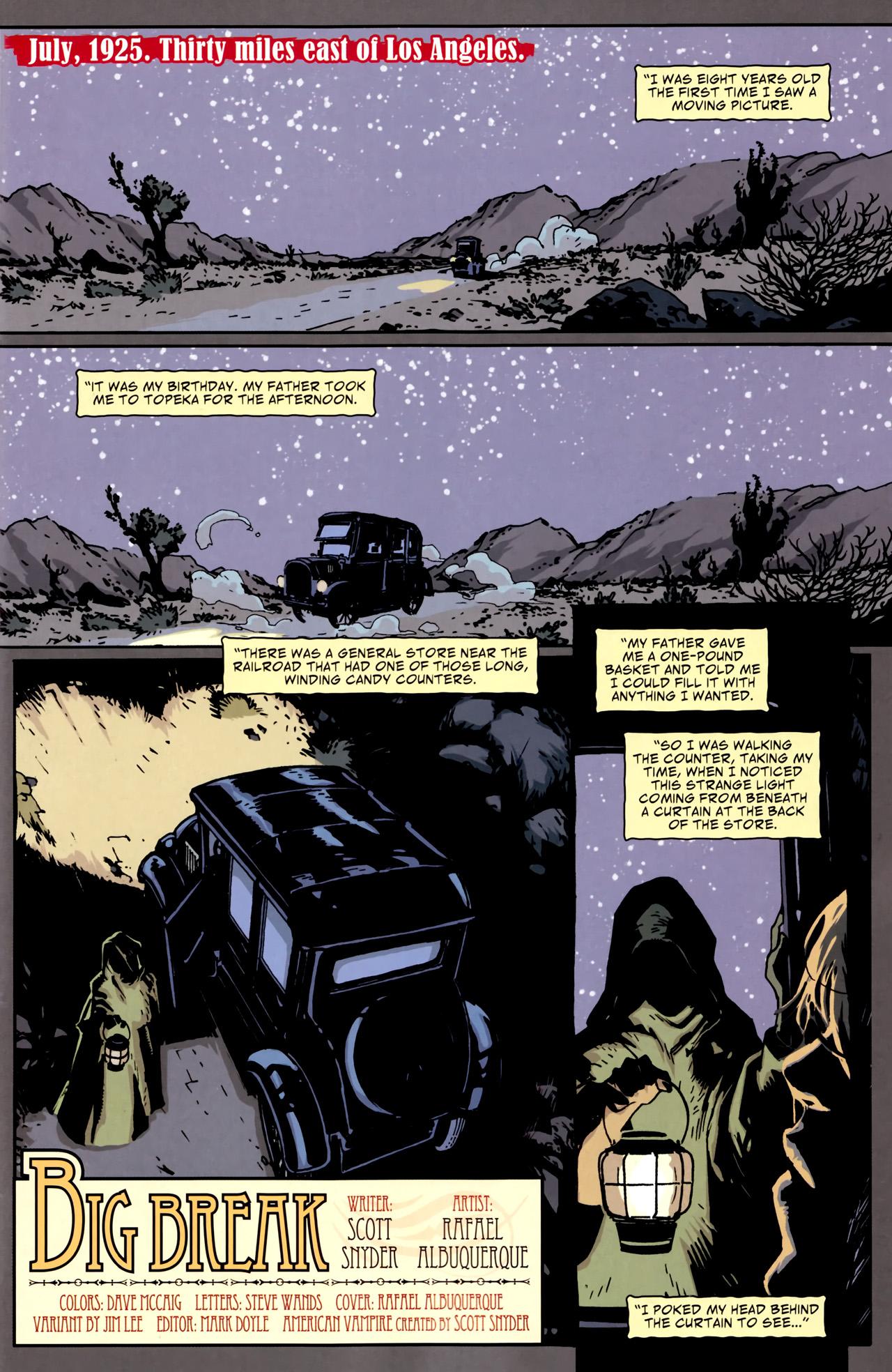 Read online American Vampire comic -  Issue #1 - 3