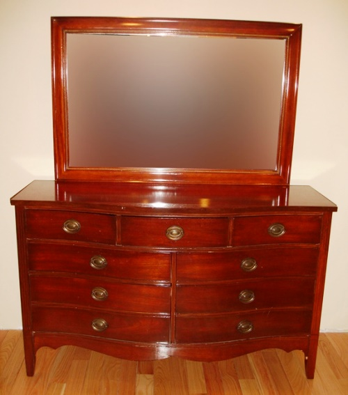 vintage mahogany bedroom furniture dresser ideas