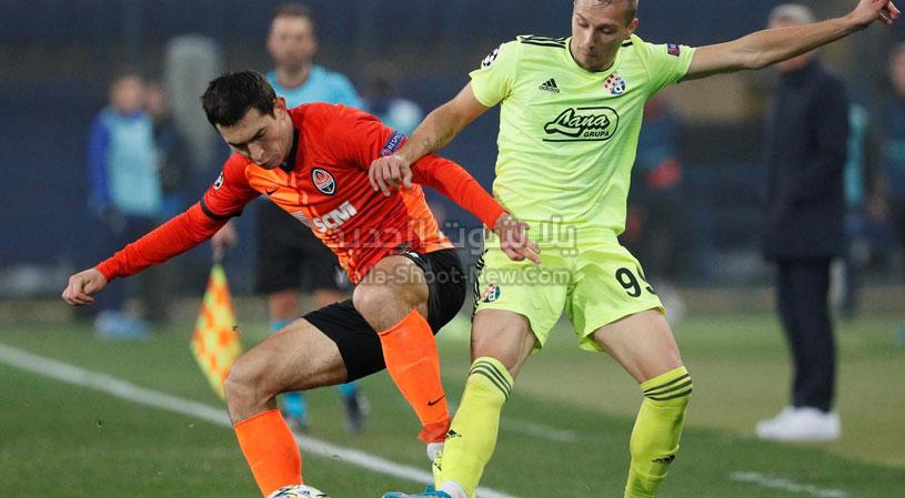 تعادل مثير بين دينامو زغرب وشاختار دونيتسك بثلاث اهداف لكل فريق في دوري أبطال أوروبا