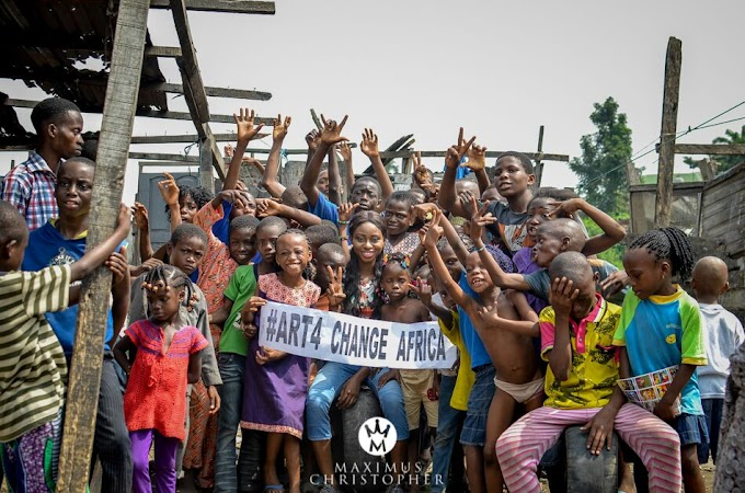 Join the ART4CHANGE_AFRICA team and save children from Poverty!!!