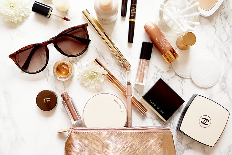 beauty-high-end-rose-gold-makeup-flatlay