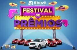 Promoção Abevê Supermercados Festival de Prêmios - Participar, Prêmios