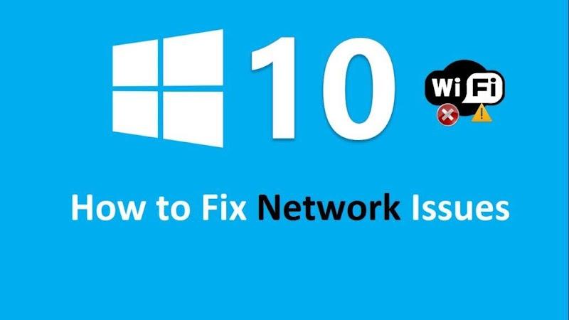 Fix windows 10 network issues