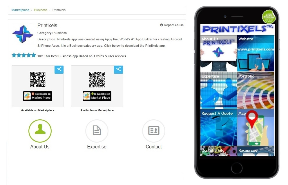 Free Printixels App