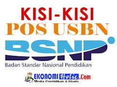 KISI-KISI DAN POS USBN BSNP 2018 UNTUK SD, SMP, SMA/SMK SEDERAJAT