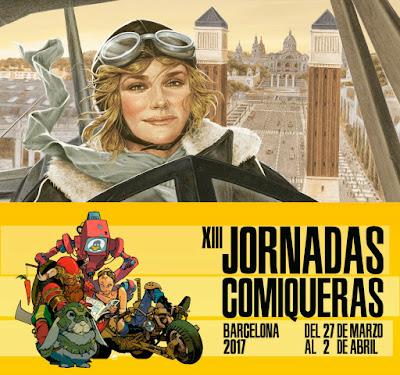 """Drakul en las """"Jornadas Comiqueras"""" y el """"Salón del Cómic de Barcelona""""."""