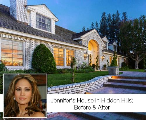 Jenniffer Lopez's Hidden Hills Home