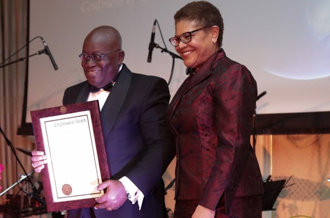 President Akufo-Addo Receives Exemplary Leadership Award