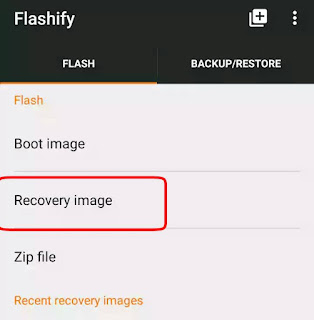 what is Custom Recovery how to flash it