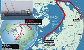 Ruta de la Seda en el Ártico