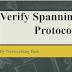 Spanning Tree Protocol : Verify Spanning tree